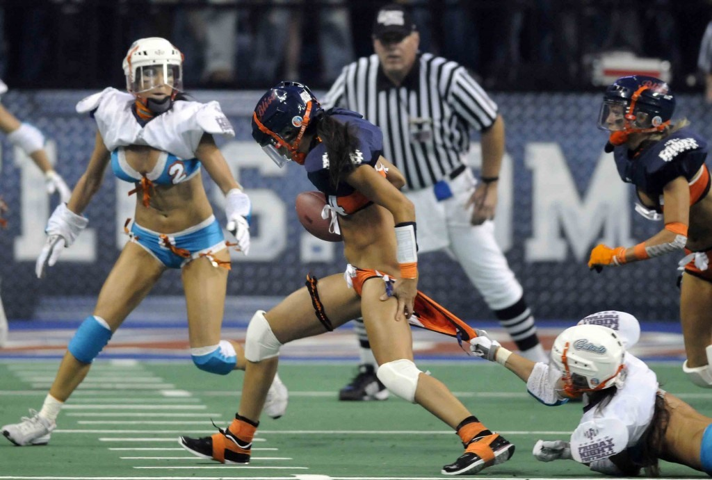 The First 5 Minutes May Be Lingerie, but the Rest Is Hardcore Football