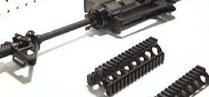 Assemble and disassemble the TSD M4 RIS rail sytsem
