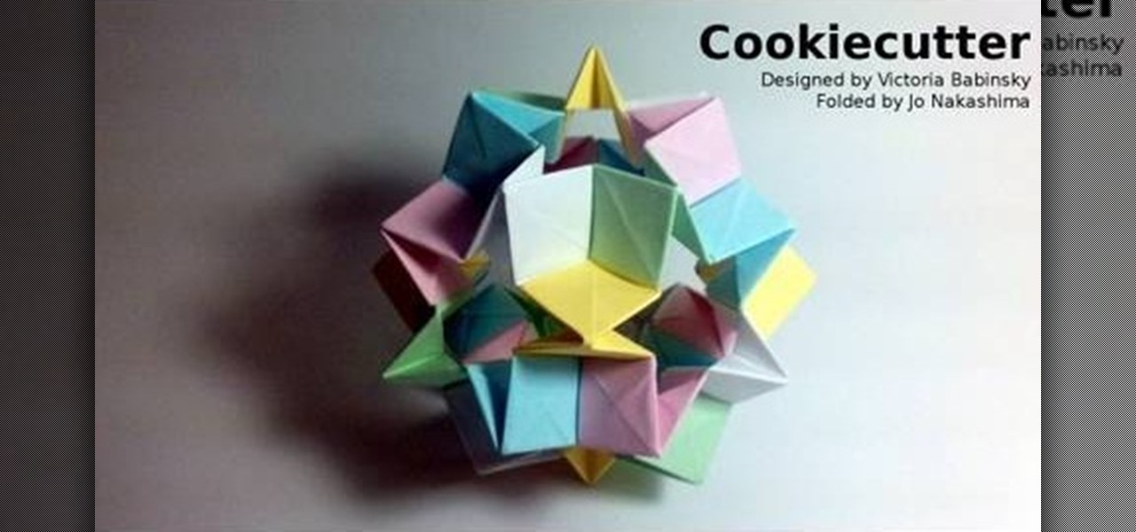 how to make complex origami