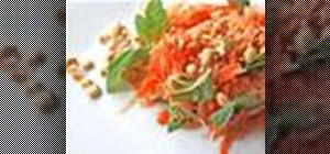 Make a Thai-style green papaya salad
