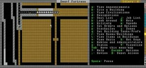 Build walls, use military patrols on invaders, and make bins in Dwarf Fortress