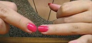 Create a double fading manicure nail look