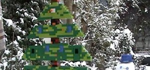 Giant Lego Christmas Tree Advent Calendar