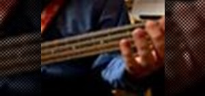 Play jazz bass in B Major