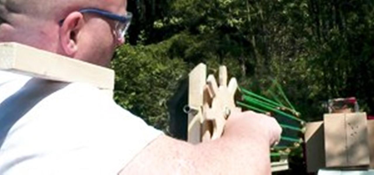 Gatling Slingshot Gun Fires Insane 960 Rounds Per Minute ...