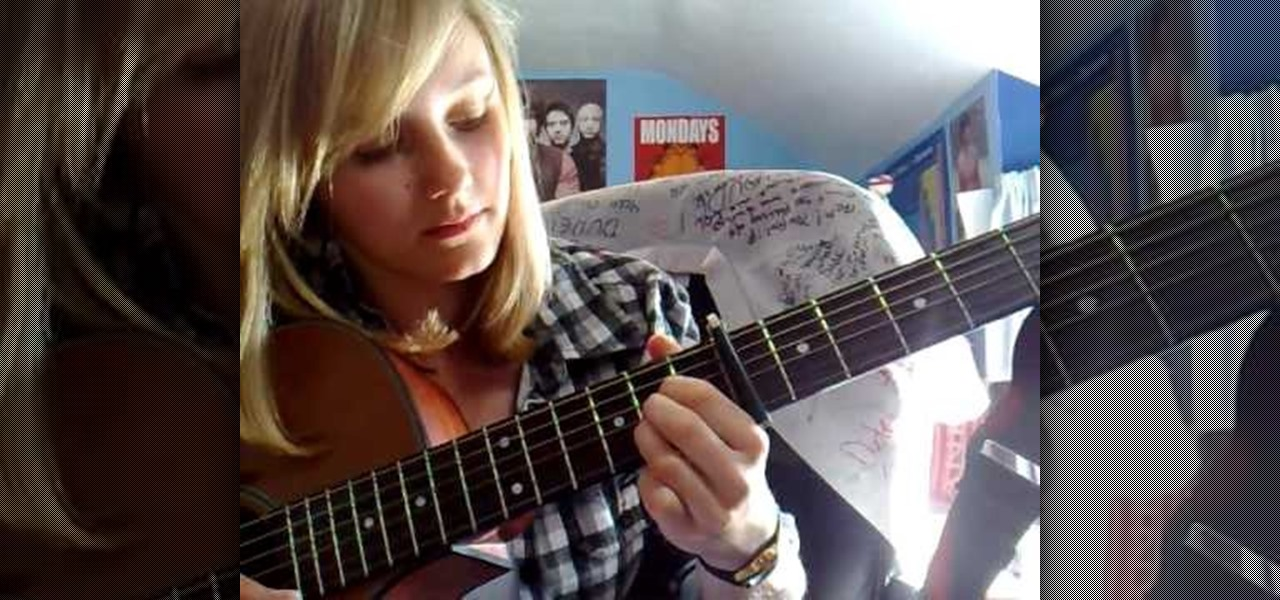 How To Play Trouble By Never Shout Never On Acoustic Guitar