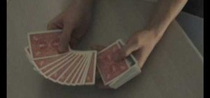 Perform the color changing deck card trick