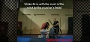 Do paraplegic self defense stick fighting strategies