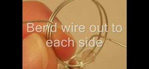 Make a beaded wire ring