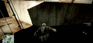 Glitch into a wall in Bad Company 2 Atacama Desert