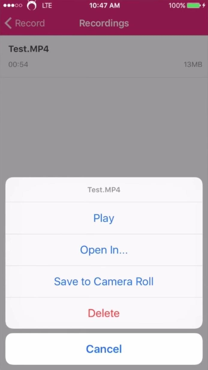 How to record Mobile Legends on IOS - Guides - Mobile Legends: Bang