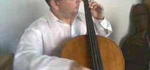 Learn the positions of the left hand on the cello