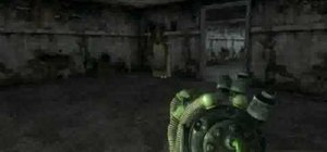Warp to the secret item testing area in Fallout 3