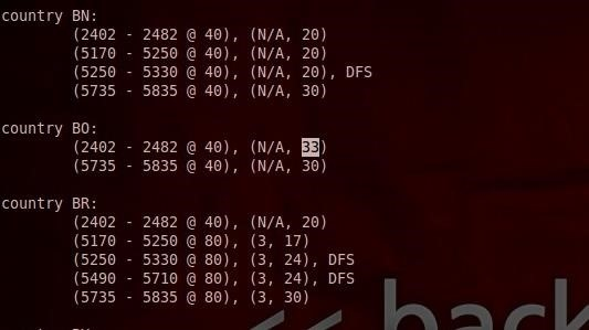 How to Set Your Wi-Fi Card's TX Power Higher Than 30 dBm
