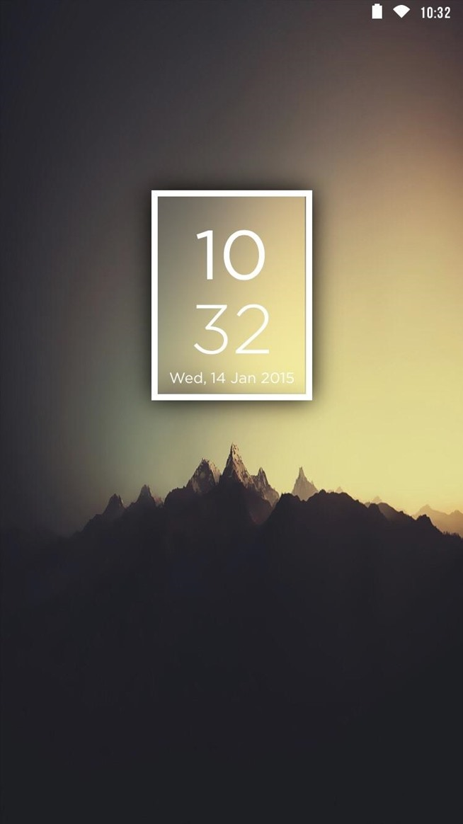 Revamp Your iPhone's Lock Screen with This Unique, Editable Date & Time Theme