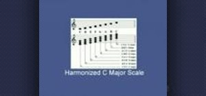 Play harmonizing scales on the piano