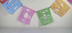 Craft a colorful paper banner with your kids