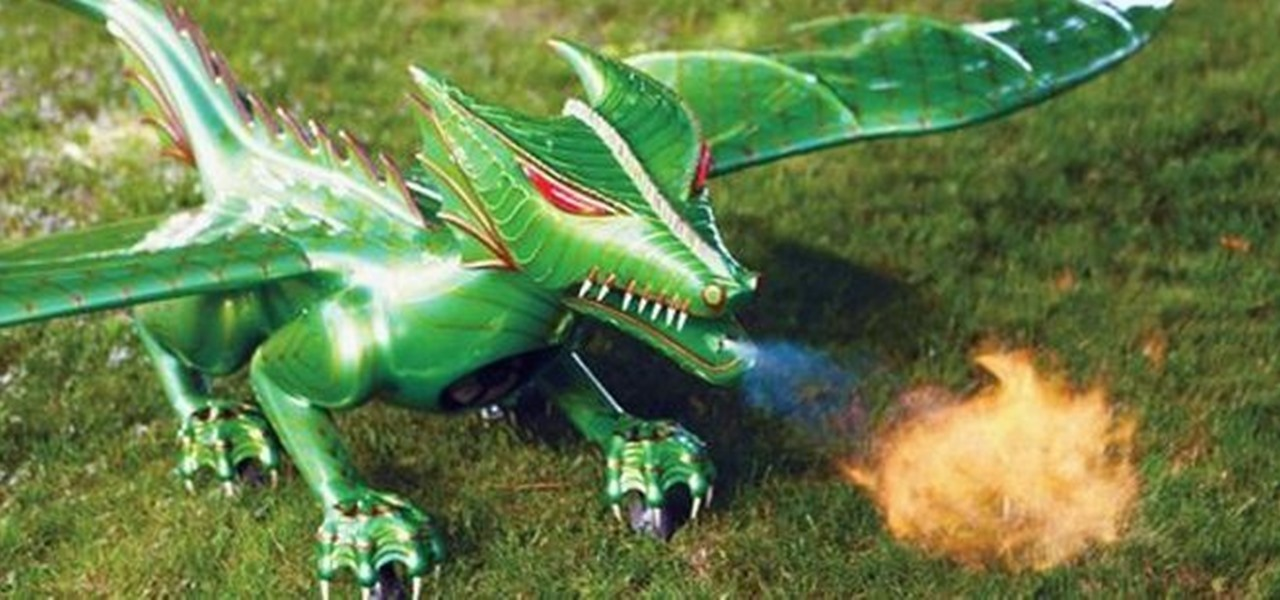 This Jet-Powered, RC Dragon Can Fly Over 100mph—And It Actually Breathes Fire!
