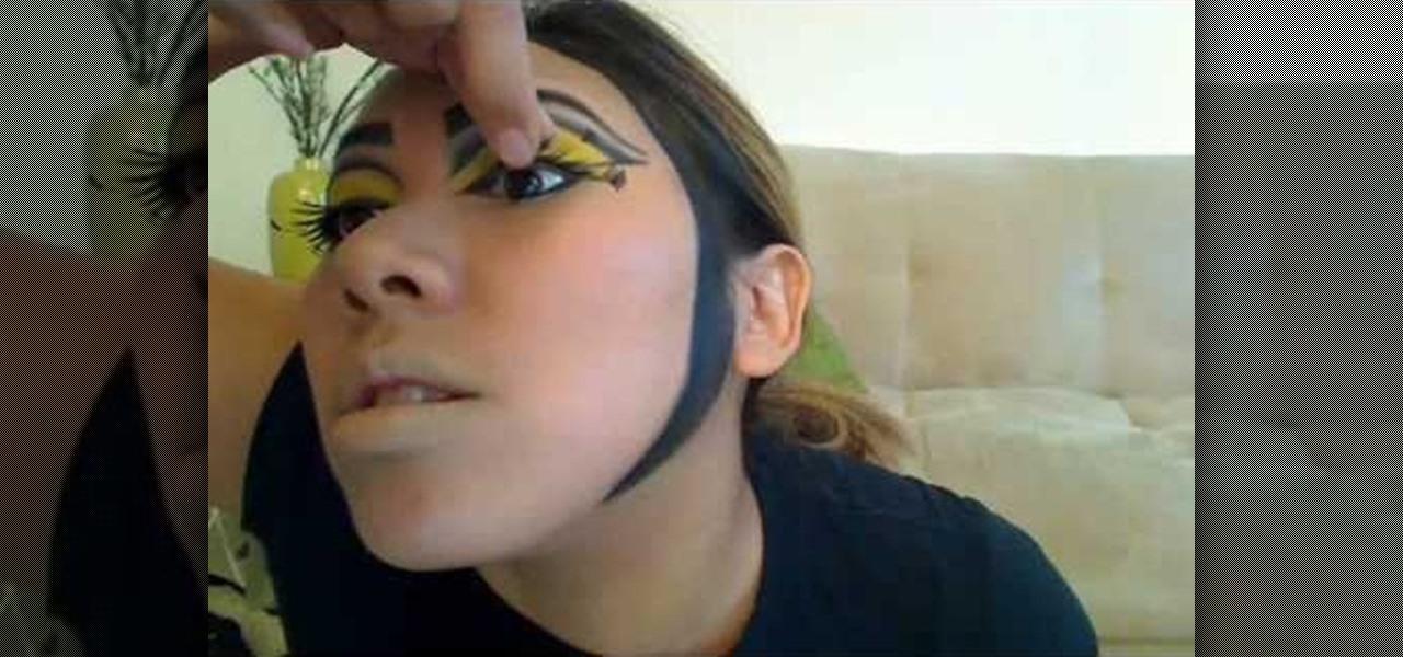 Bee Halloween Makeup Look