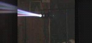 Use the KAM LED Swingfire sound to light unit