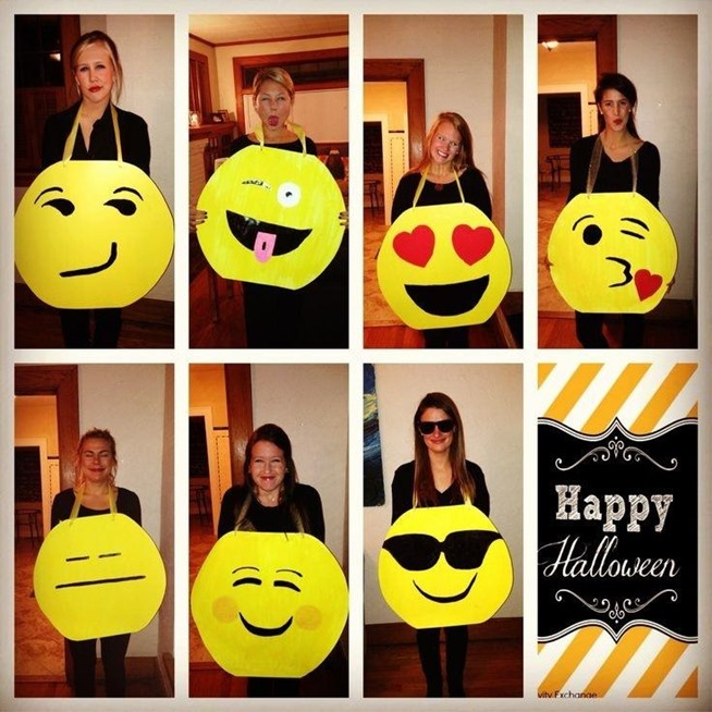 Dancing Girl Emoji Halloween Costume Diy Emoji Halloween Costumes