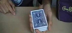 Shuffle cards for magic tricks