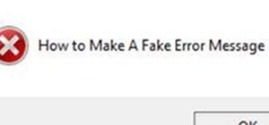 Make A Fake Computer Error Message