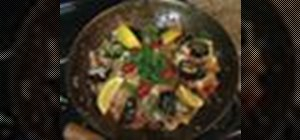 Make seafood paella