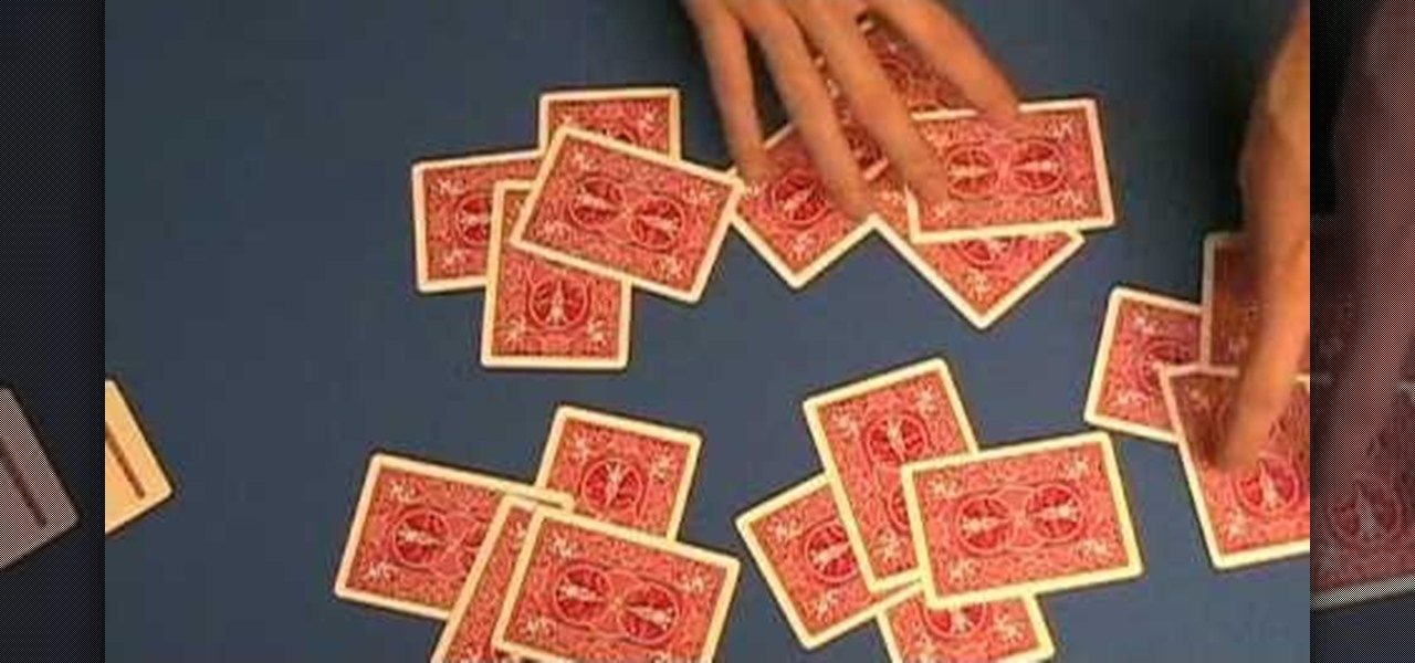 how to do the 21 cards trick card tricks wonderhowtohow to perform the 21 card trick