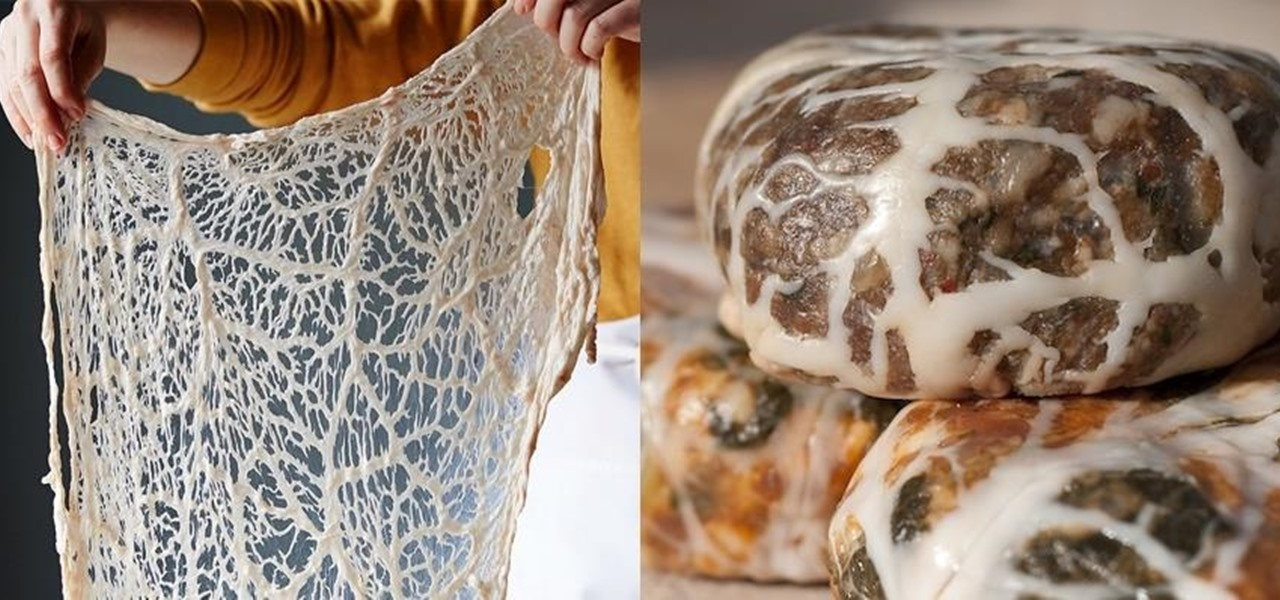 Wrap Food with Caul Fat Instead of Bacon