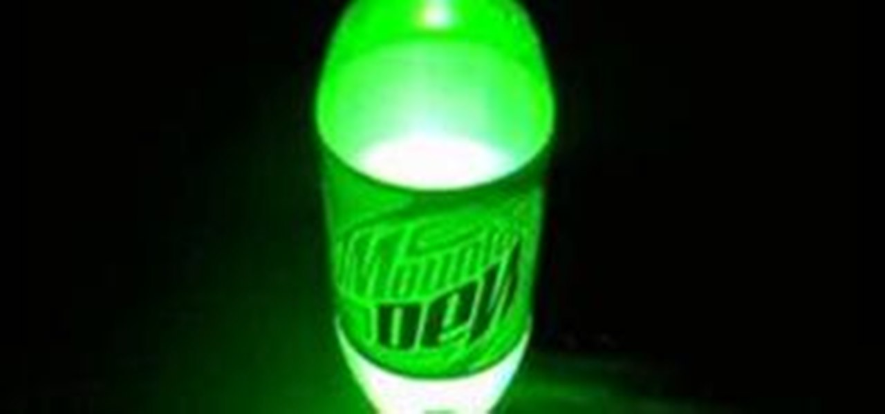 How to create light with mentos and mountain dew science how to create light with mentos and mountain dew science experiments wonderhowto solutioingenieria Image collections