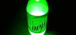Create light with Mentos and Mountain Dew