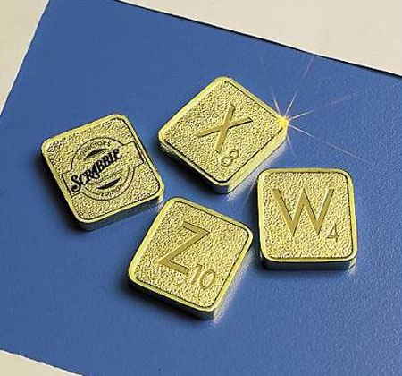 proxy - The Franklin Mint Scrabble Gold Collector's Edition - Lifestyle, Culture and Arts