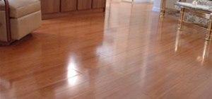 This laminate looks like real hardwood flooring