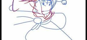 how to draw sasuke shippuden step by step easy