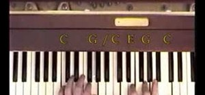 """Play """"Maybe I'm Amazed"""" by Paul McCartney on piano"""