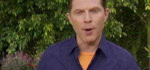 Make red wine BBQ salmon with Bobby Flay