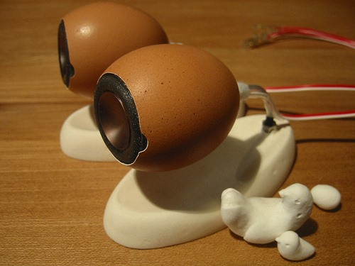 Eggsellent DIY Speakers