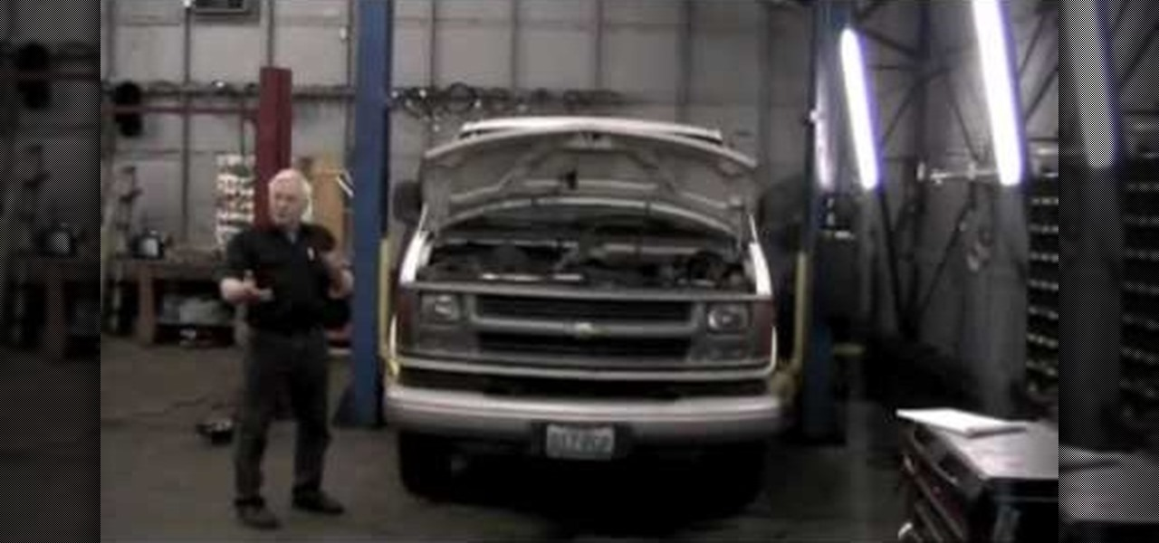 How To Cut Rr Remove Replace Time For An Engine In A 2000 Chevrolet Express Van « Auto Maintenance Repairs Wonderhowto: 96 Chevy Tahoe Engine Diagram At Freddryer.co