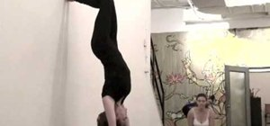 Do a yoga handstand correctly