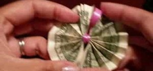 Origami Money to Make a Hawaiian Money Lei