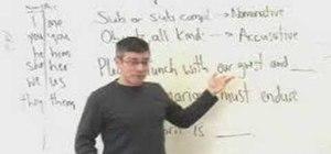 Understand pronoun case in English grammar