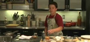 Cook a ham and onion omelet - kids can cook!