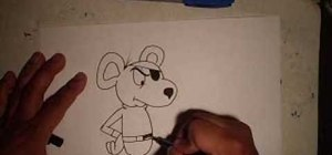Draw Danger Mouse
