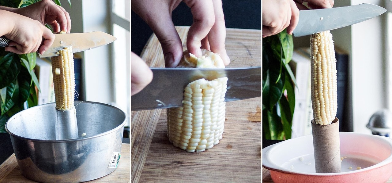 Cut Corn Off the Cob Easily, Quickly, & Safely