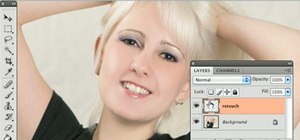 Retouch a face in Adobe Photoshop
