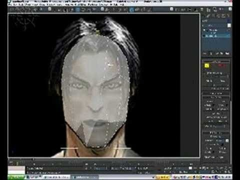 Create a head model in 3ds Max - Part 2 of 3