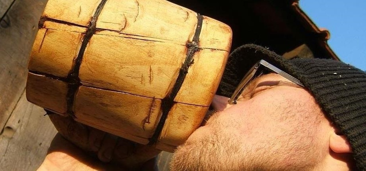 Real Men Make Their Own Viking Beer Mugs—Without Using Power Tools (Now You Can Too)