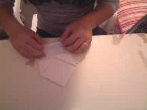 Make a simple and easy paper fortune teller