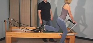 Do Pilates Reformer exercises to strengthen your hips